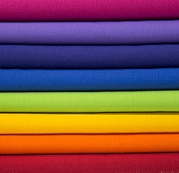 Bella Solids Fabric Bundle - Rainbow