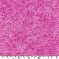 Quilting Temptations Swirls - Bubblegum Pink
