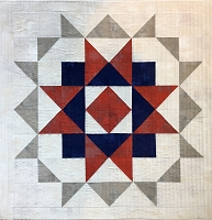 Summer Star Mini Quilt Pattern - PDF
