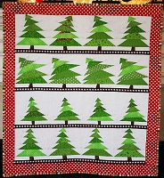 The Tree Lot Mini Quilt Pattern - PDF