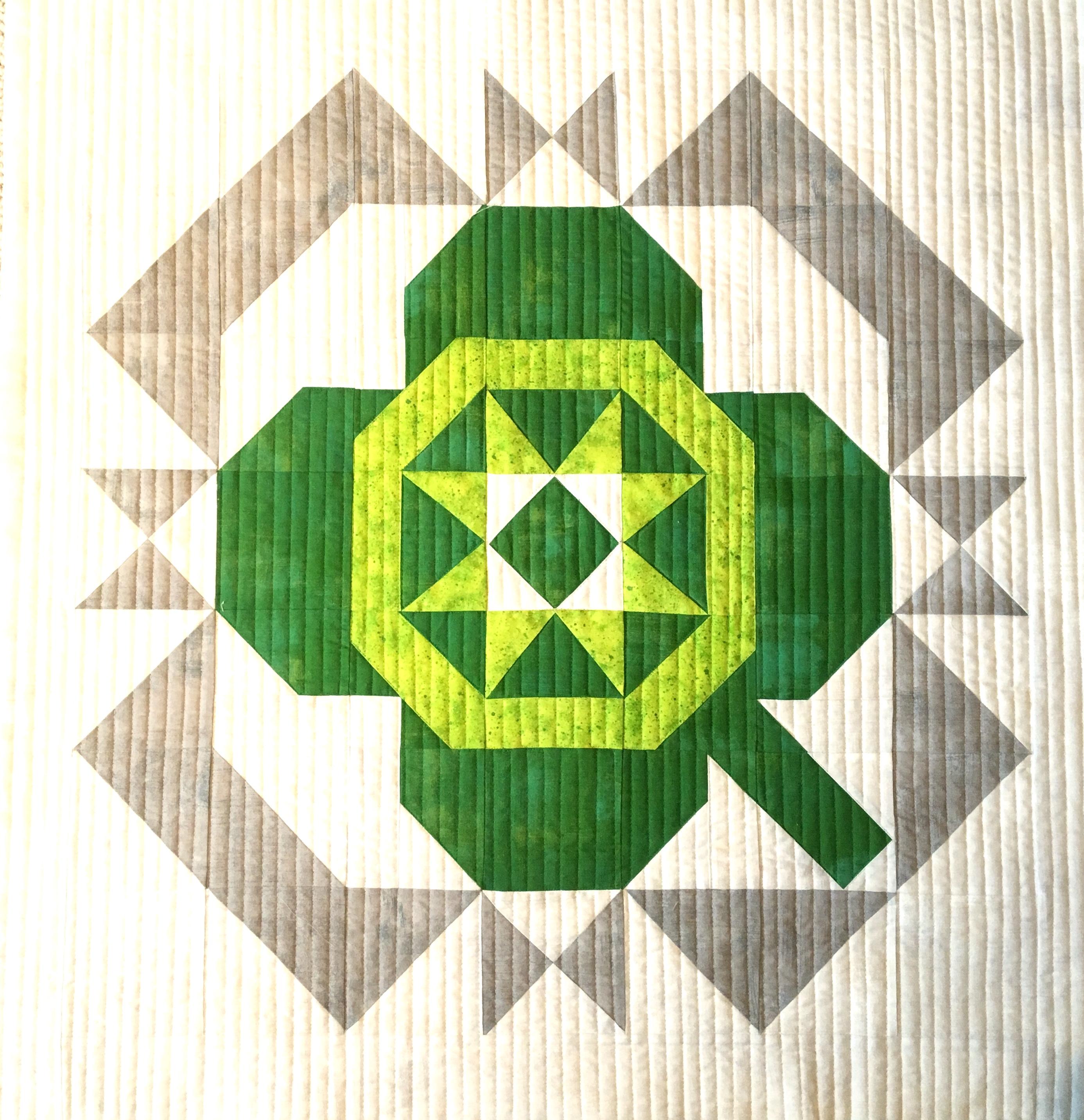 Lucky Charm Mini Quilt Pattern - PDF