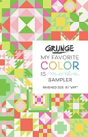 My Favorite Color is Moda Quilt Kit - Moda Grunge