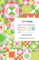 My Favorite Color is Moda Quilt Pattern