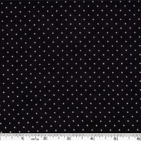 Moda Essential Dots - Jet Black