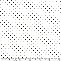 Moda Essential Dots - White Black