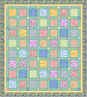 Grandma's Porch 30's Reproduction Quilt Kit