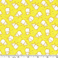 Nana Mae Elephant Croquet - Yellow