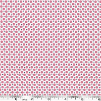 Retro 30's Child Smile Dots - Pink