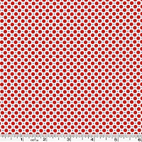 Retro 30's Child Smile Dots - Red