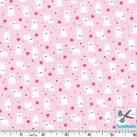 Minny Muu Polar Bears - Pink