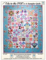 Ode to the 1930's: A Sampler Quilt