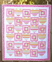 Sweet Hearts Quilt Pattern PDF