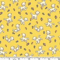 Toy Chest Little Lambs - Yellow