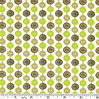 Alphabet Soup Gumball Stripe - Green