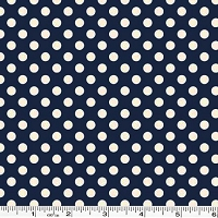 Small Le Creme Dot - Navy
