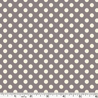 Small Le Creme Dot - Gray