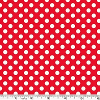 Small Le Creme Dot - Red