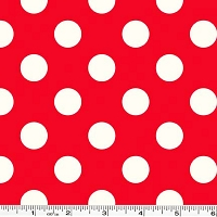 Medium Le Creme Dot - Red