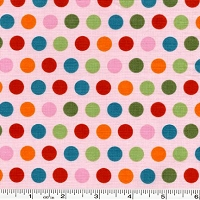 Just Dreamy Multi Dot - Pink - 24