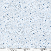 Penny's Dollhouse Dots - Lake Blue