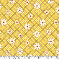 Penny's Pets Daisy Plaid - Screamin' Yellow