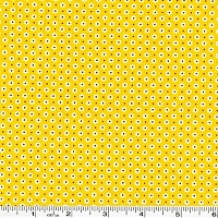 Penny's Pets Tiny Daisies & Dots - Yellow