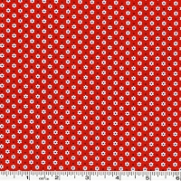 Penny's Pets Tiny Daisies & Dots - Red