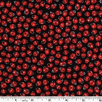 Ladybugs - Black - 38