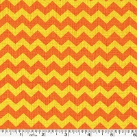 Ziggy Chevron - Orange