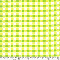 Going Places Plaid - Lime - 28