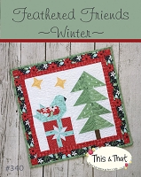 Feathered Friends - Winter Mini Quilt Kit