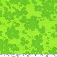 Spin Tonal Floral - Green