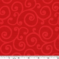 Spin Tonal Scroll - Red