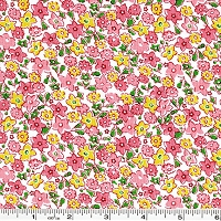 Storybook Vacation Multi Flower - Pink