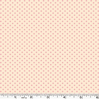 Spring Showers Dots - Ivory/Pink