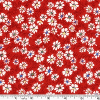 Summer Days Daisy Patch - Red