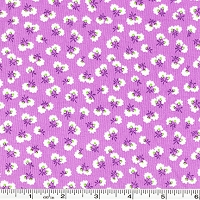 Toy Chest Florals Blossom Bud - Purple