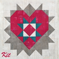 Love You Mini Quilt Kit