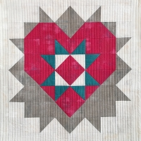 Love You Mini Quilt Pattern - PDF
