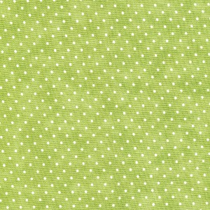 Moda Essential Dots - Spring Green