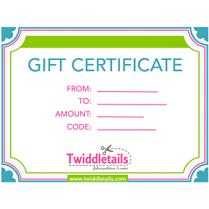 Gift Certificate - emailed