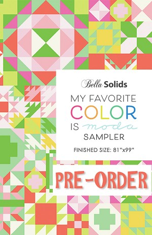 My Favorite Color is Moda Quilt Kit - PRE-ORDER