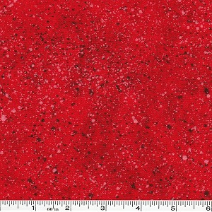 Wilmington Essentials Spatter Texture - Cherry Red
