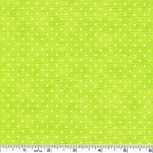 Moda Essential Dots - Bright Lime