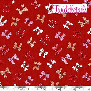 Old New 30's Bows - Red
