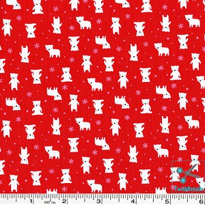 Minny Muu Polar Bears - Red