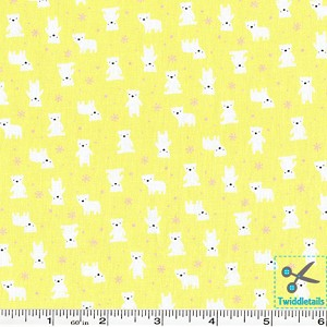 Minny Muu Polar Bears - Yellow