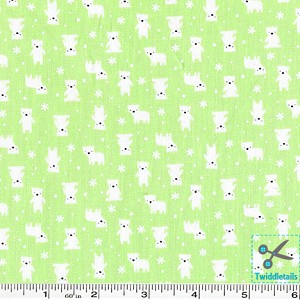 Minny Muu Polar Bears - Green