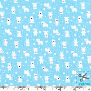 Minny Muu Polar Bears - Blue
