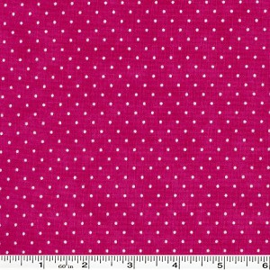Moda Essential Dots - Hot Pink